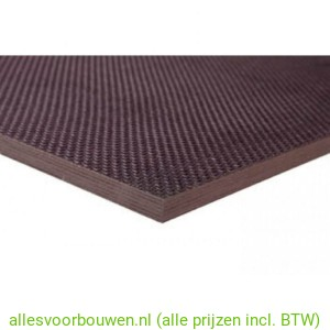 Betonplex Antislip Berken 18mm 125X250cm FSC Mix 70%