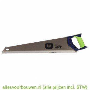 Pro One Handzaag HP GT Vertanding 550mm. Met Softgrip Greep
