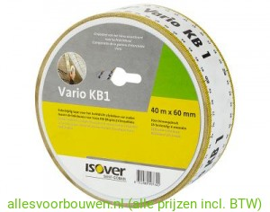 Isover Vario KB1 Tape 60 mm rol van 40 m1