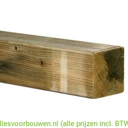 VUREN C 75X75 GESCHAAFD GEIMPREGNEERD FSC® MIX CREDIT